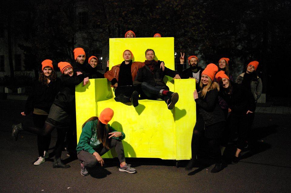 Warsztaty ruchowo – performatywne z Krystyną Lamą Szydłowską